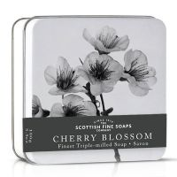 Soap in a Tin 100g - Cherry Blossom, Lotus, Orchid & Rose